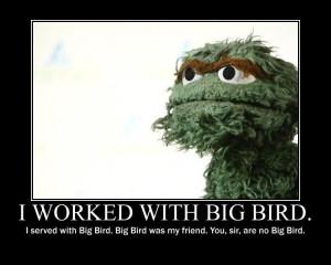 ... Big Bird / Mitt Romney Hates Big Bird -You, sir, are you Big Bird