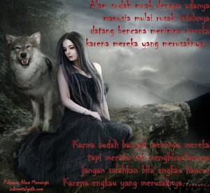 vampire poems | Pulasara - Alam Menangis (Gothic Poetry / Syair Gothic ...