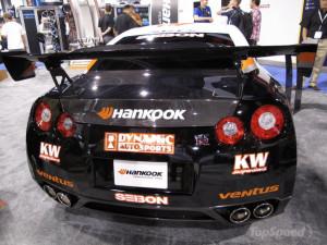 Hankook brings a GT-R drift car to the 2009 SEMA Show