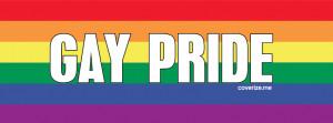 Gay Pride Facebook Cover