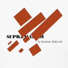 Suprematism by Kazimir Malevich , Funny T Shirt Design
