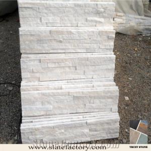 Natural White Rusty Slate Ledge Stone Veneer Cultured Stone Veneer for