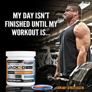 ... jack3d #usplabs #barbell #motivation #quote #bicep #deadlift #training
