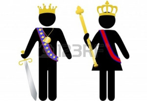 ... king-and-queen-with-crowns-scepter-sword-the-customer-is-king-or-queen