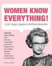 Women Know Everything... By Karen Weekes - Book Review