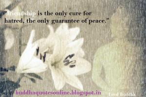 Buddha Quote on Friendship | Friendship by Buddha | Buddha Quotes