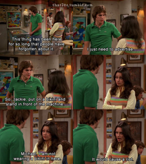 Jackie And Kelso That 70s Show