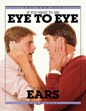 If You Want to See Eye to Eye