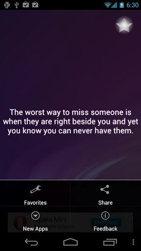 Missing You Quotes Screenshots