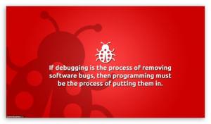 Debug is Programming HD wallpaper for HD 16:9 High Definition WQHD ...