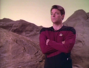 ST:TNG 1.10 Hide and Q ~ Star Trek: The Next Generation Re-Watch