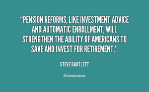 Pension reforms, like investment advice and automatic enrollment, will ...