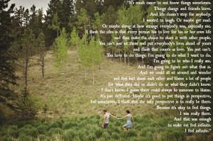 Wallflower-Stephen Chbosky motivational inspirational love life quotes ...