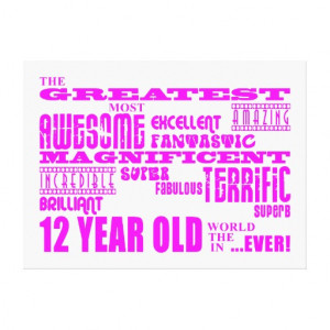 Birthday Quotes For 12 Year Old Girl