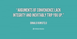 Lack of Integrity Quotes