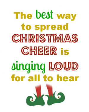 with my favourite lines from Christmas songs and some movie quotes ...