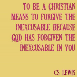... the inexcusable how to be a christian quote by author c s lewis