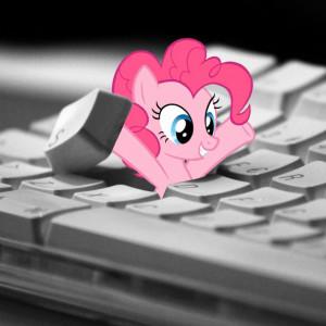 My Little Pony Friendship is Magic Pinkie Pie Keyboard