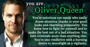 Que personaje de Arrow eres?