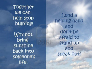 Stop Bullying|Bullying In Schools|Quotes On Bullying Facts.