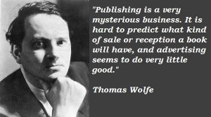 Thomas wolfe famous quotes 5