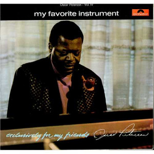 Oscar Peterson My Favorite Instrument UK LP RECORD 583721