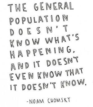 Noam Chomsky Quote: