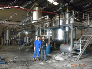DIR 2012 NEW Oil Re-Refining Technology Vacuum Distillation Unit