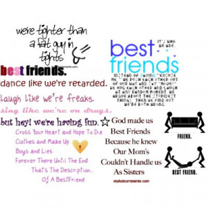Best Friends Funny Quotes And Sayings Love friendship quotes sayings