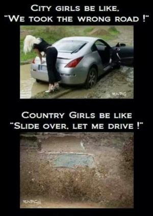 City girls vs. Country girls
