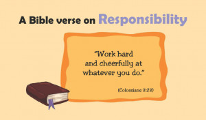... Responsibility, , Bible Story Responsibility, Father's Responsibility