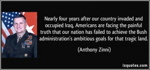 invaded and occupied Iraq, Americans are facing the painful truth ...