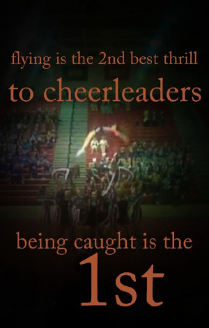 Cheer Quotes For Flyers Cheerleading quotes for flyers - google search ...