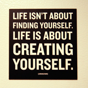 Create Quotes –Creating Quotes – Creation – Quote - Life isn't ...