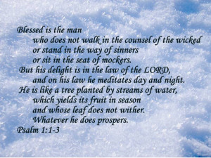 Jim   all galleries >> Inspirational > Psalm 1:1- 3