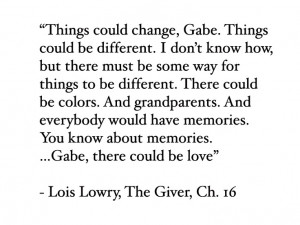 The Giver Book Quotes The giver. i loved this book