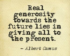Quotes Courtesy, Real Generosity, True Generosity, Quotes Lyrics ...
