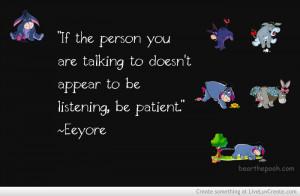 eeyore true quote