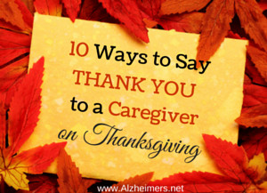 Caregivers selflessly give of their time, their money, and their heart ...