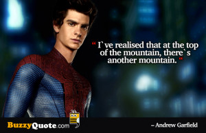 Spiderman Quotes Garfield quotes, spiderman