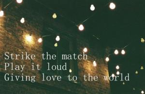 Ellie Goulding Lyrics Burn