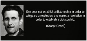 George Orwell, author of the