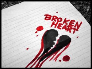 heartbreak crying broken heart