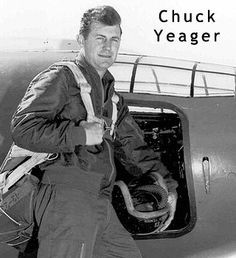 Chuck Yeager - First to break sound barrier - Myra, WV More