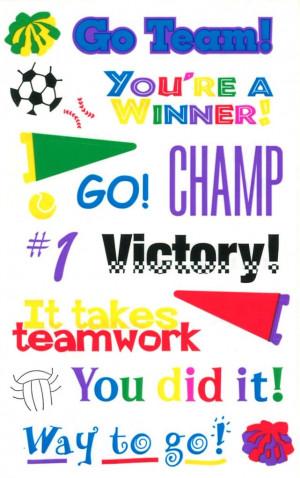 Way To Go Team Go team!, you're a winner,