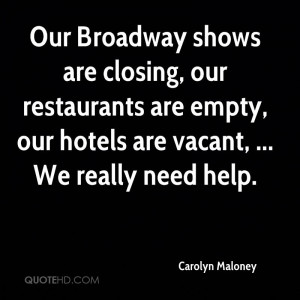 Quotes From Broadway Shows
