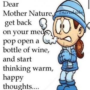have had enough of winter...