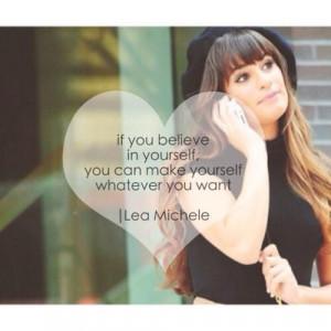️ Lea Michele #quote