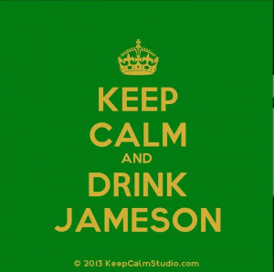 Jameson Irish whisky. :)