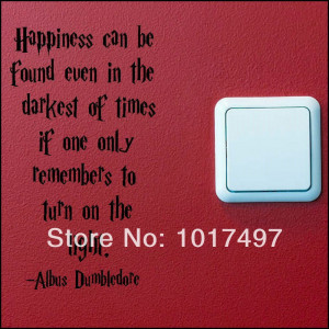 wholesale-funny-SWITCH-wall-decal-stickers-HARRY-POTTER-QUOTE-TURN ...